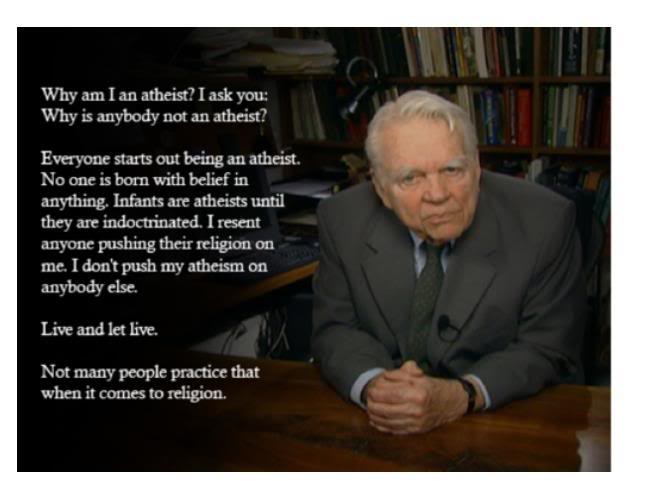 Andy Rooney Atheist