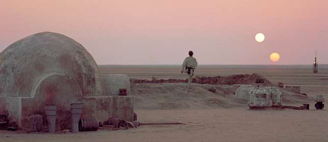 Twin Suns of Tatooine
